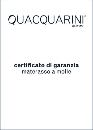 certificato garanzia