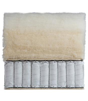 interno materasso Bramante i lato invernale