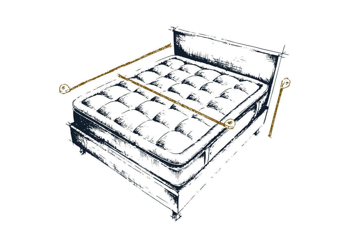 Prendere le misure In caso di acquisto della trapunta e del piumino