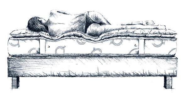 Sistema letto ideale Quacquarini