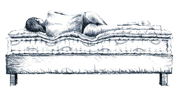 Sistema letto tradizionale Quacquarini